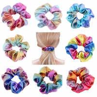 24 Pcs scrunchie pack haarbänder frauen haar zubehör Haarband Strap Glitter Seil haar accesorios mujer decoracion 919