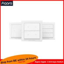 Aqara – interrupteur mural intelligent sans fil Opple, aucun câblage requis, fonctionne avec l'application Mijia et Apple HomeKit
