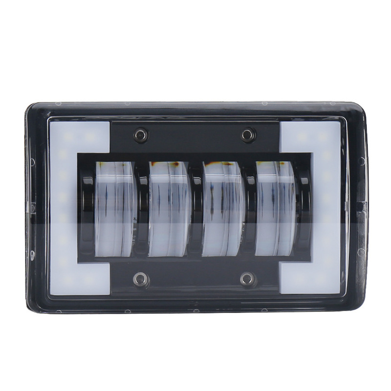24 W Square Working Light Car Modification LED Light Off-road Vehicle Light Engineering Auxiliary Lighting Lamp