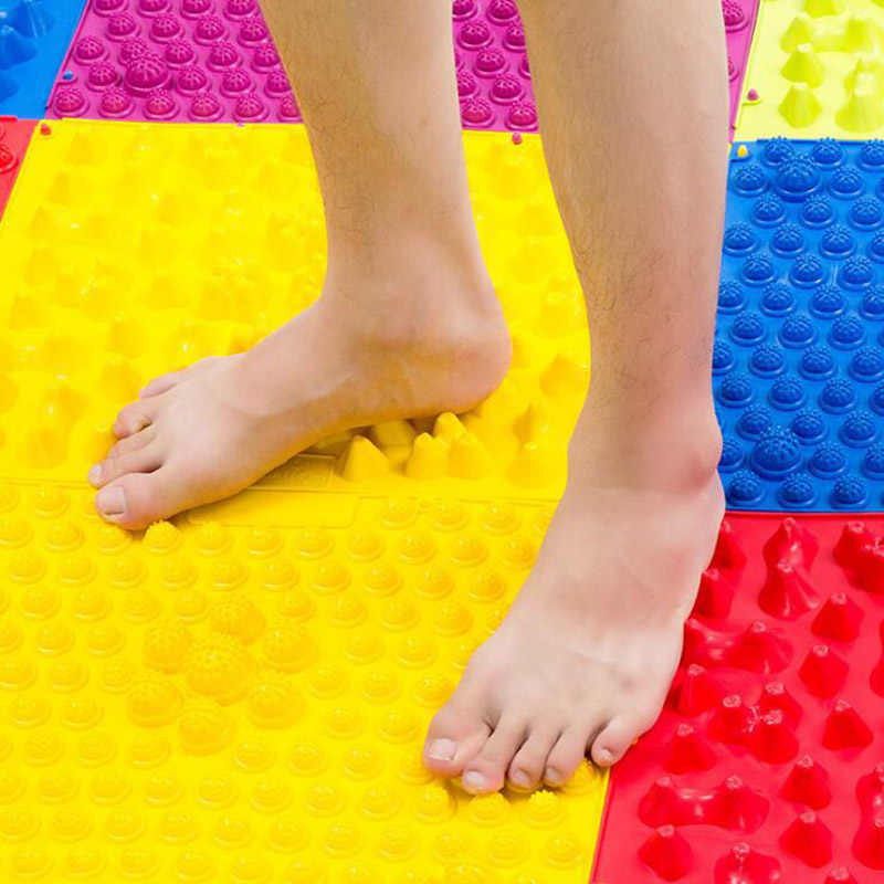 Splice Foot Massage Pad Toe Pressure Plate Blood Circulation Shiatsu Mat UK -TE2