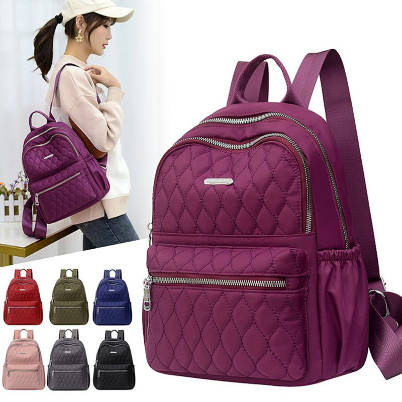 Vento Marea Travel Women Backpack Casual Waterproof Youth Lady Bag Female Large Capacity Women's Shoulder Bags 2020 Red Rucksack