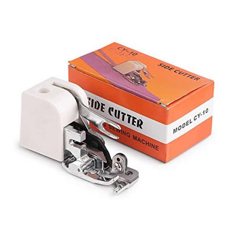 1 قطعة ماكينة خياطة المنزلية أجزاء الجانب القاطع الاوفرلوك قطعة قدم الضغط في ماكينة الخياطة الصحافة قدم لجميع منخفضة عرقوب المغني Brother