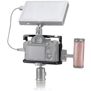 Image 3 - VIJIM CA 02 アルミ合金カメラケージソニー A7R4 ソニー A7R iv コールドシューマウント Arri ポジショニング穴 1/4 3/8 スレッド