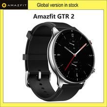 Original huami amazfit gtr 2 smartwatch 326ppi display música 14 dia bateria vida relógio inteligente para android ios telefone