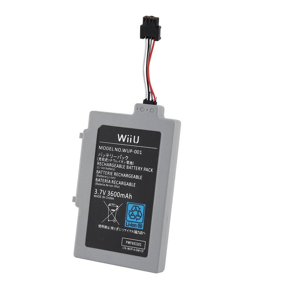 3000mah Rechargeable Battery For WII U Gamepad Battery Repair Accessaries