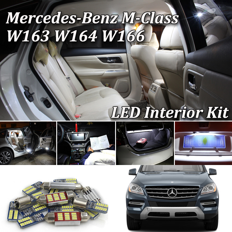 Black Grey Quilted Leather Car Seat Covers For Mercedes Benz ML63 AMG 12-15