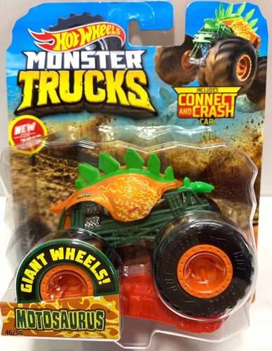 1: 64 оригинальные горячие колеса гигантские колеса Crazy Barbarism Монстр металлическая модель грузовика игрушки Hotwheels большая ножная машина детский подарок на день рождения - Цвет: 46