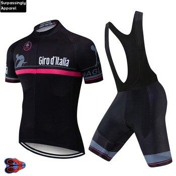 Camiseta de Ciclismo profesional para hombre, conjunto de pantalones cortos de equipo...