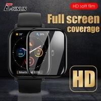 Protector de pantalla de cubierta completa curvada 99D para reloj inteligente Amazfit 1S GTS 2 BiP S Lite SmartWatch BiP S Lite