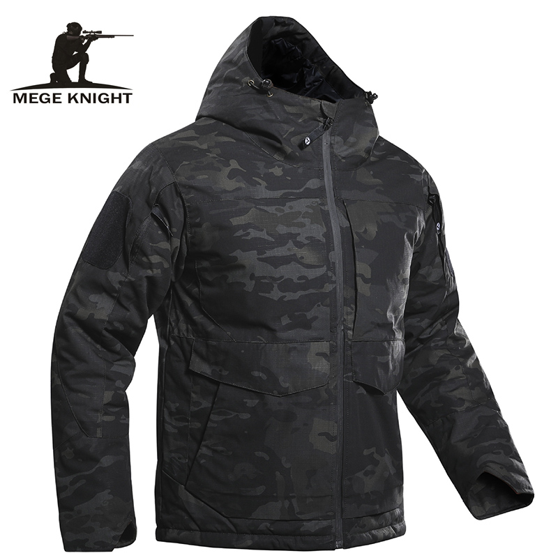 Mege Tactical Jacket Winter Parka Camouflage Coat Combat Military Clothing Multicam Warm Outdoor Airsoft Outwear windcheater