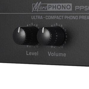 Image 5 - Pp500 مضخم صوت فونو بريمب فائق الدقة مع التحكم في المستوى والحجم بمدخل ومخرج Rca بواجهات إخراج Trs مقاس 1/4 بوصة ، E