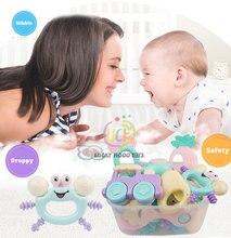 Детские игрушки 1 шт силиконовый Прорезыватель для зубов малышей
