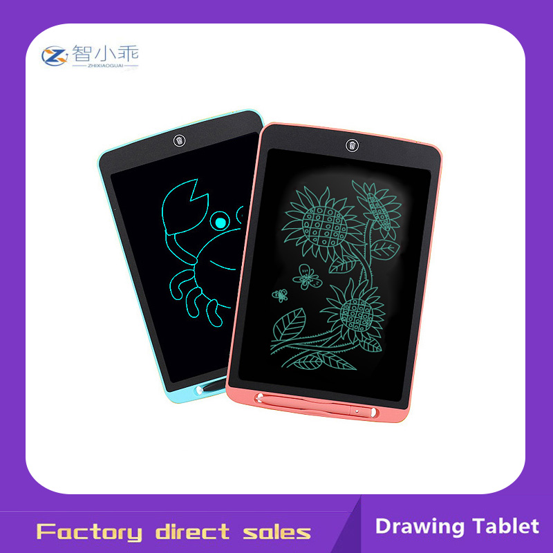 Zhixiaoguai 10 Polegada lcd placa de escrita desenho tablet almofadas de escrita graffiti eletrônico tablet crianças brinquedos