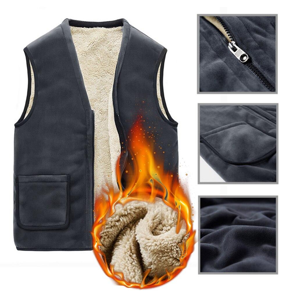 Купить модная мужская куртка без рукавов жилет зимние уличные термальность