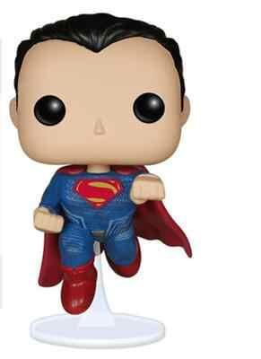 Pop Action Superman VS Batman-Superman 85 # รูปไวนิลรูปของเล่นที่มีกล่อง