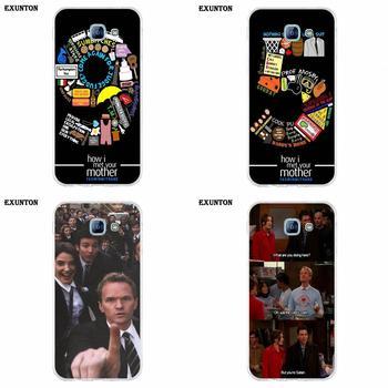 Para Galaxy A3 A5 A7 A8 A9 A9S On5 On7 Plus Pro estrella 2015, 2016, 2017, 2018 TPU caso Tv mostrar cómo conocí a tu madre, traje