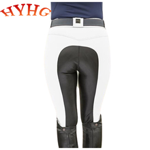 HYHG Women's Horse Riding Pants Breeches Equestrian Chaps Pants Silicone Full Seat Women Horse Riding Tight Leggings Equestrian