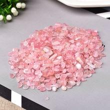 Naturalna róża kryształowa rudy kwarcu gatunek minerału kamień leczniczy naturalny kolorowy kwarc do akwarium kamień Home Decoration DIY
