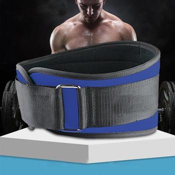 1 Pcs Fitness Weightlifting Belt Men Sports Waist Abdomen Women Guards Squat Training Nylon Belt Belts Fitness J0J5 1