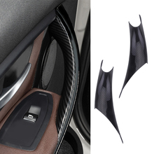 Grab-Handle-Covers Interior-Door-Panel F30 320i 4-Series BMW for 328li 335i F35
