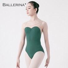 Rajstopy dla dorosłych dancewear trykot baletowy kobiety bez pleców trykoty taneczne gimnastyka kostium baletowy baleriny 5675