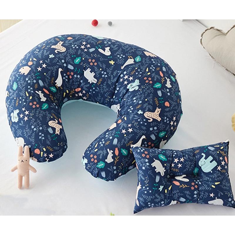 Baby Pillows Newborn Baby Nursing Pillows Maternity Baby U-Shaped Breastfeeding Pillow Infant Cotton Feeding Baby Care Pillows