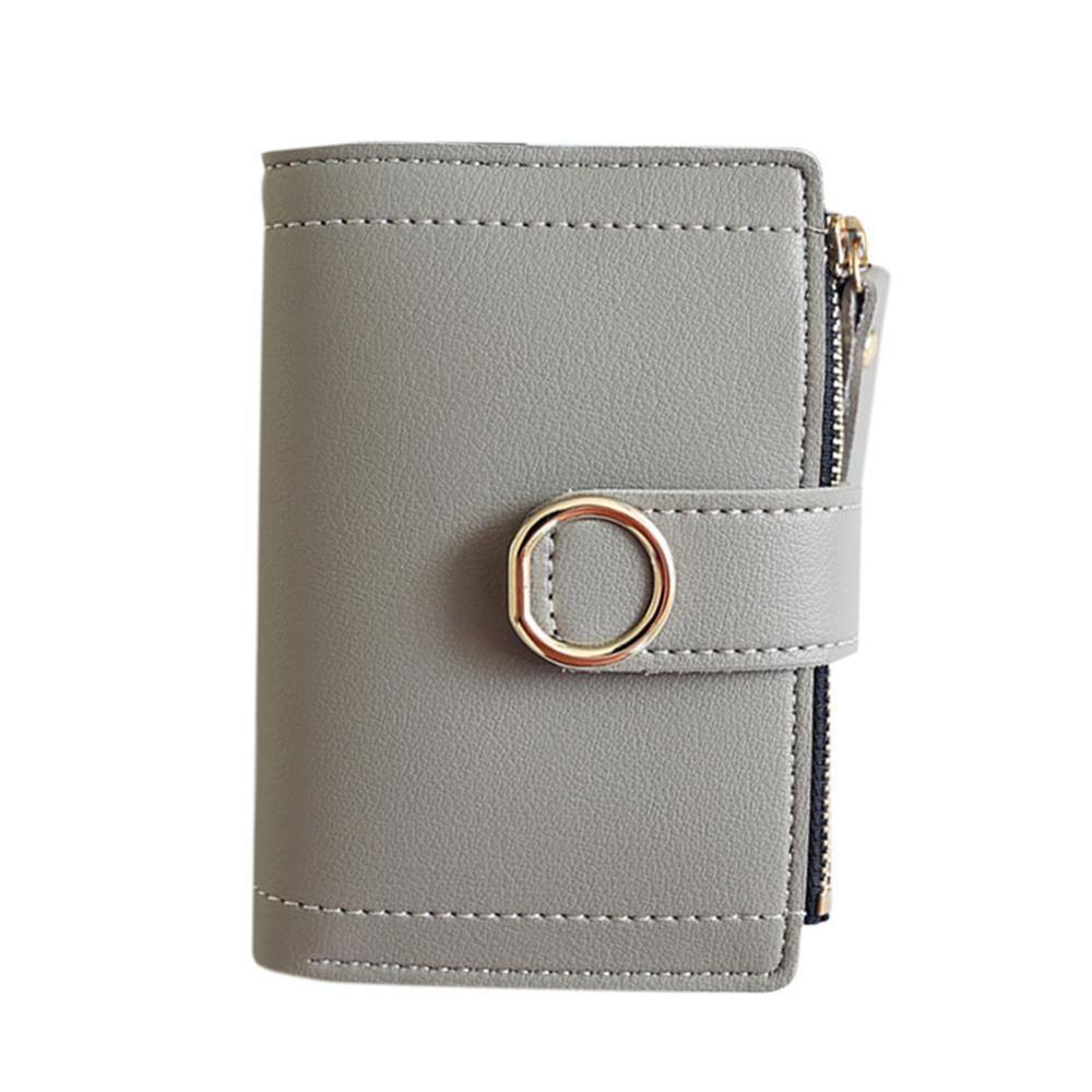 Women Ladies Leather Purse Money Clip Wallet Clutch Card Bag Holder Gift New