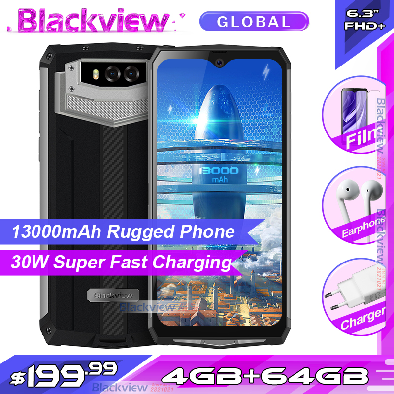 Blackview BV9100 FHD 64GB GSM/LTE/WCDMA Nfc Adaptive Fast Charge Octa Core Fingerprint Recognition