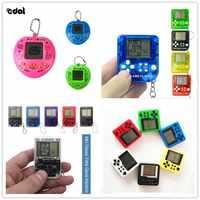 Mini Classic Game Machine Children\'s Handheld Retro Nostalgic Mini Game Console With Keychain Tetris Video Games Classic Games