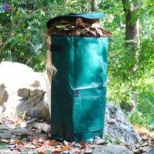 Resíduos Orgânicos AMKOY Cozinha Quintal Jardim Plantador de Eliminação De Resíduos De Cozinha Pano de Saco Composto PE Ambiental Saco de Composto Orgânico