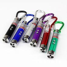Alta qualidade 3 em 1 caneta laser vermelho 1mv 49 pés visão laser mini lanterna led feixe de luz ponteiro para o trabalho ensino formação