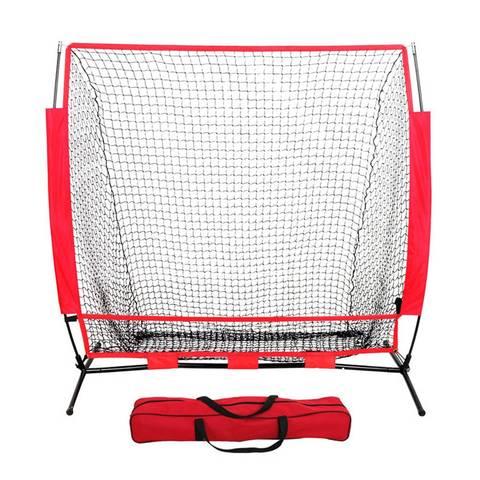 Prática de Beisebol Quadro de Beisebol Softball Bater Net Strikenet Batting Treinamento Prática Tela Barreira 5 * 5ft