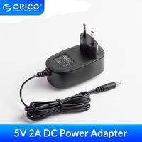 ORICO 5V 2A AC zu DC Power Adapter Versorgung EU US UK AU Stecker Micro USB ABS Feuer-beständig Wand Konverter Ladegerät