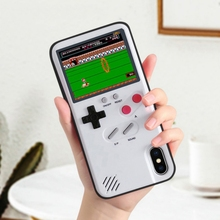 Gameboy Soft Phone Case Cover For iPhone X XR XS Max For iPh