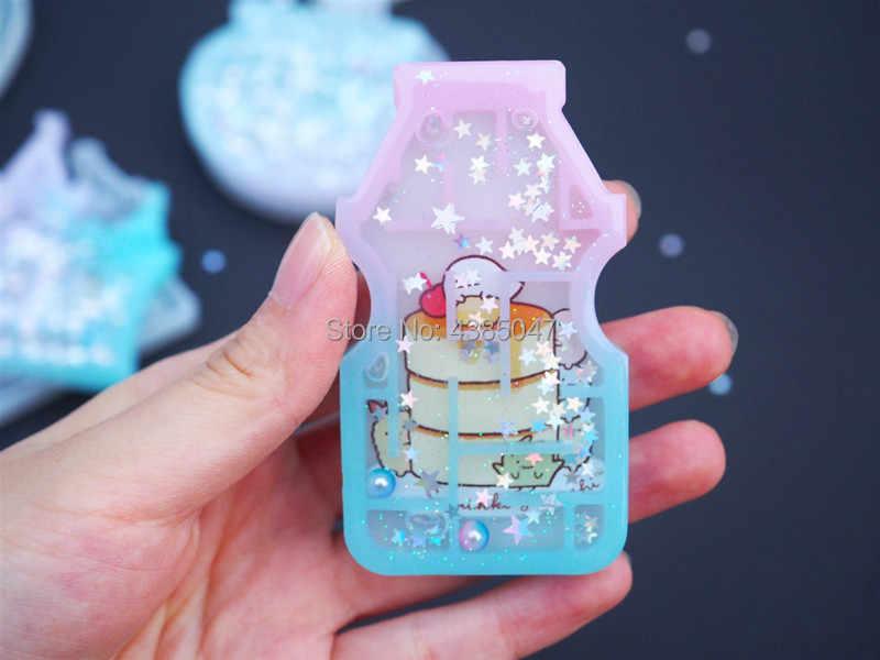 Magic Shaker Cetakan Labirin Perhiasan Cetakan Semprotan Minyak Kerajinan Alat UV Resin Gantungan Kunci Perhiasan Aksesoris Perhiasan Alat