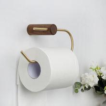 Держатель для туалетной бумаги в ванную комнату настенное крепление