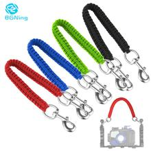 BGNing Diving Camera Tray Handle Rope Lanyard Strap for Gopro for Sony for Canon for Nikon Waterproof Housing Case Light Holder