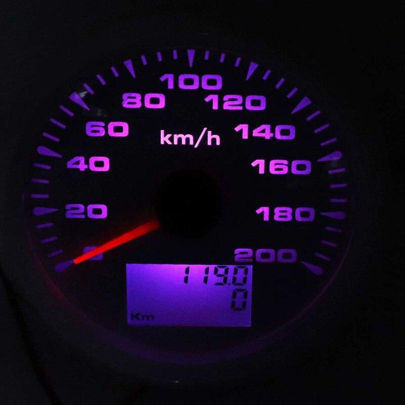 Image 3 - 85mm Digital GPS Speedometer Gauge 120km/h 200km/h Waterproof  Speed Gauges 7 Colors Backlight 12V 24V gps snelheidsmeterSpeedometers