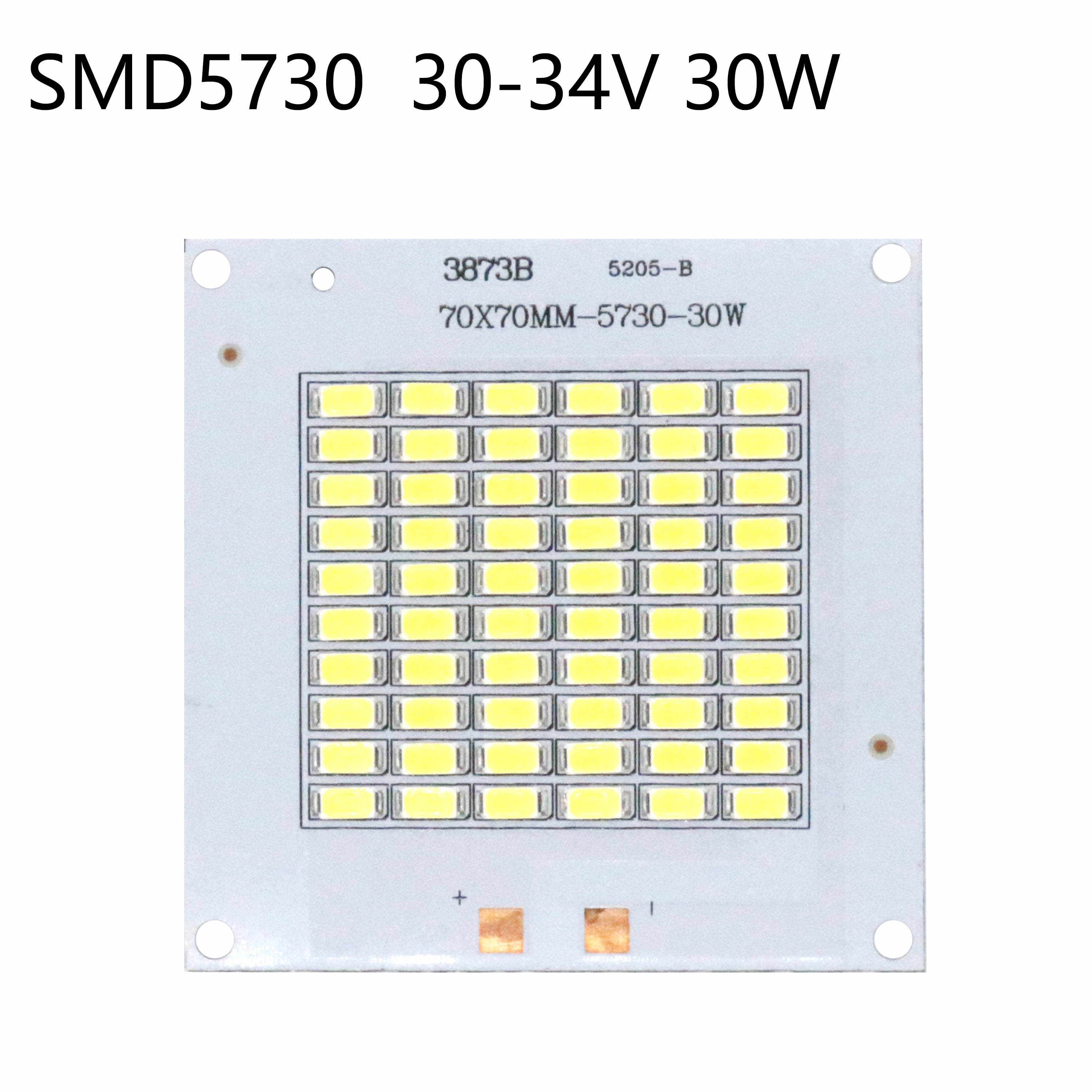 SMD5730 Led Chip 10W 20W 30W 50W Lamp Kralen High Power 120LM/W Smart Ic led 32-36V Voor Indoor Outdoor Diy Kit