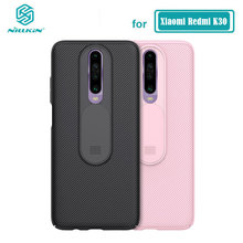 POCO X2 Camera Protection Case Nillkin Slide Protect Lens Protection Case for Xiaomi Redmi K30 5G Pocophone X2 Cover