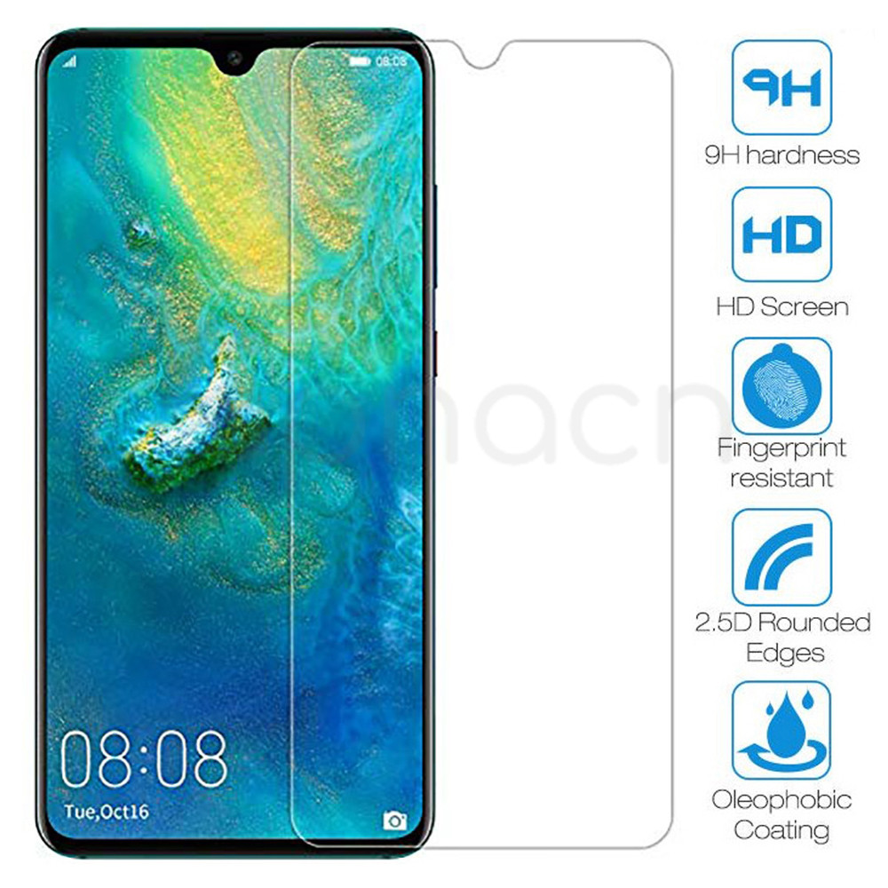 9H Tempered Glass For Huawei Mate <font><b>30</b></font> 20 <font><b>10</b></font> Lite 20X Protective Glass Huawei P40 Lite E P smart Z 2019 Screen Protector Glass image