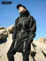 VIISHOW Streetwear chaquetas de Hombre de marca con capucha Chaqueta Hombre Casual Chaqueta Hombre 2018 nuevo rompevientos Veste Homme  