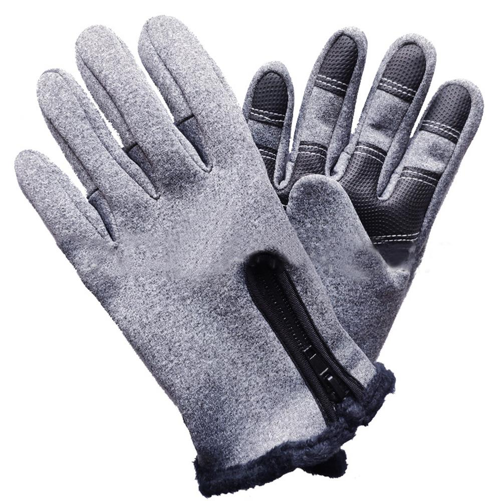 Durable Motorcycle Non Slip Riding Glove Fleece Gloves Mobile Phone Keep Warm Waterproof Touch Screen Warm Gloves Skiing