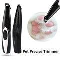 2 0 Версия для домашних животных точный триммер для стрижки собак местная бритва USB Перезаряжаемый триммер для кошек машина для ушей глаза но...