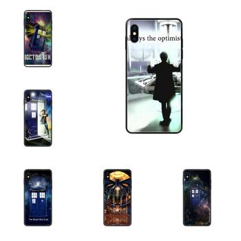 Soft Mobile Cases Covers Dr Who Tardis For Galaxy A5 A6 A7 A8 A10 A10S A20 A20S A20E A21S A30S A40 A50 A70 A71 A70E 2017 2018 image