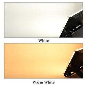 Image 5 - 4 sztuk 50W LED światło halogenowe AC 220V 240V projektor IP65 reflektor reflektor LED lampa uliczna światło zewnętrzne oświetlenie