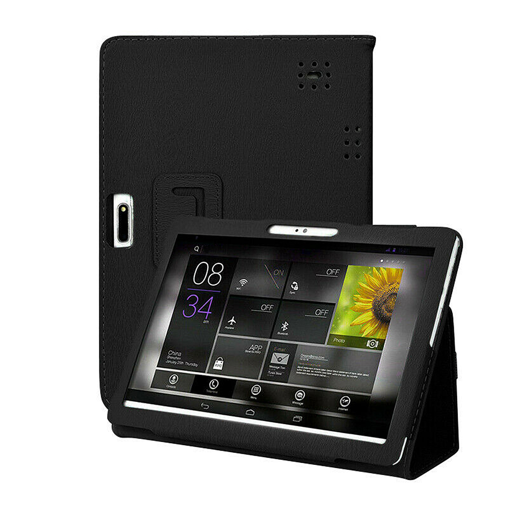 Universal Protection Cover Leather Case For 10 10.1 Inch Android Tablet PC Foldable Tablet Cases Protective Cover