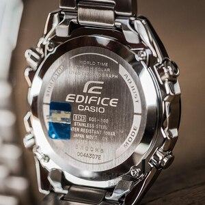 Image 3 - Đồng hồ Casio Edifice đồng hồ nam sang trọng không thấm nước chronograph đồng hồ đeo tay nam đồng hồ đeo tay thạch anh quân đội Đồng hồ đua Quà tặng đồng hồ thể thao cho nam 5 động cơ độc lập Tough Solar часы мужские