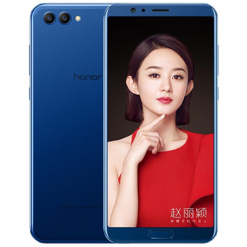 Stock Original Honor V10 view 10 Smart Phone Android 8 Octa Core 5.99 inch view10 Dual Rear Camera Fingerprint ID NFC honor v 10(China)
