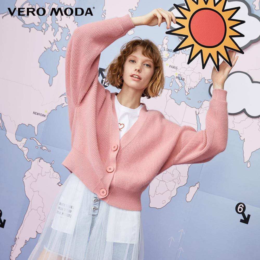 Vero Moda Women's Rabbit Fur Wool Cardigan Knit | 319313556
